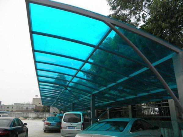 阳光板雨棚如何安装?阳光板雨棚安装注意事项