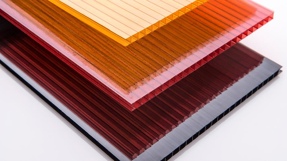 双层板 多色PC阳光板