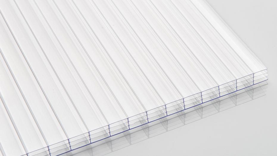 透明四层 pc阳光板