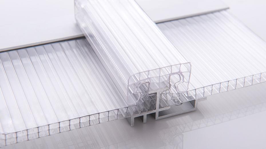 透明U型锁扣阳光板系统