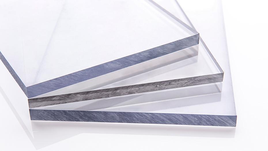 无色透明PC板材 耐力板
