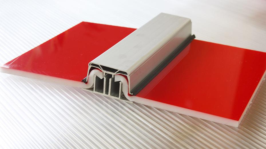 彩色U型锁扣耐力板