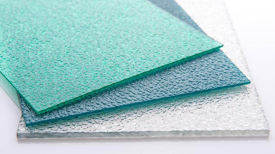 彩色磨砂颗粒 PC耐力板