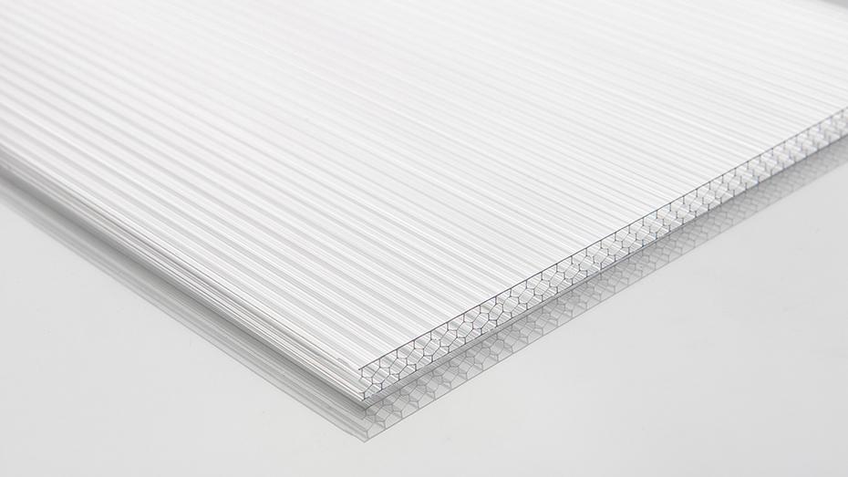 无色透明蜂窝板 阳光板