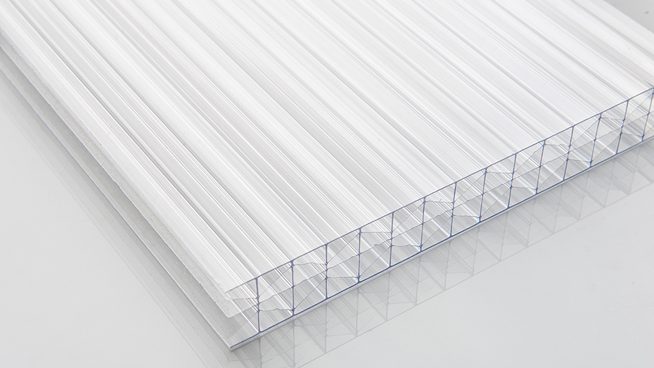 PC透明三层阳光板