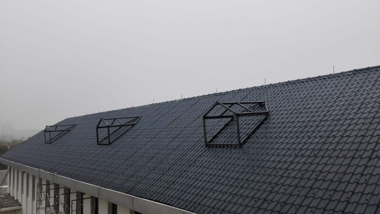 3mm树脂瓦—屋顶工程案例