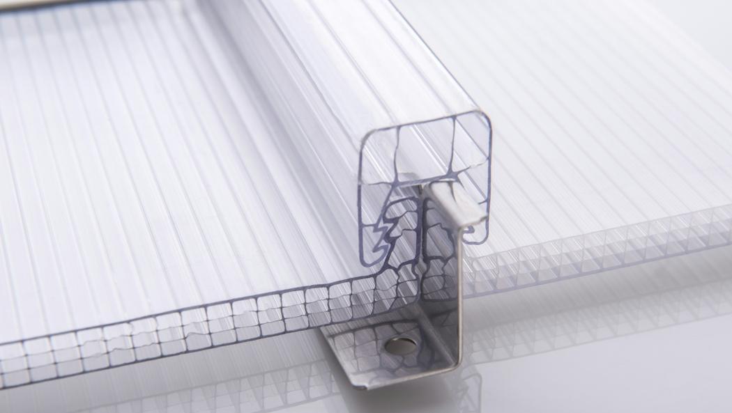 建筑采光U型锁扣板工程